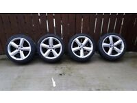 Audi TT Alloy wheels/tyres for sale