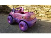 Disney Princess Electric 6v (Ride-on) Toy Car – Pink and Purple