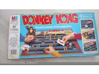 MB Games Donkey Kong Game 1983 Good Condition, Not Complete