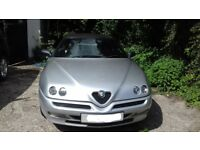 Alfa Romeo Twin Spark Convertible, 2001. £1950 ono.