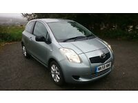 TOYOTA YARIS TR 1.0 FULL TOYOTA SERVICE HISTORY 78K MILES