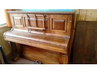 Broadwood White and Co Piano -with original receipt book from 1923
