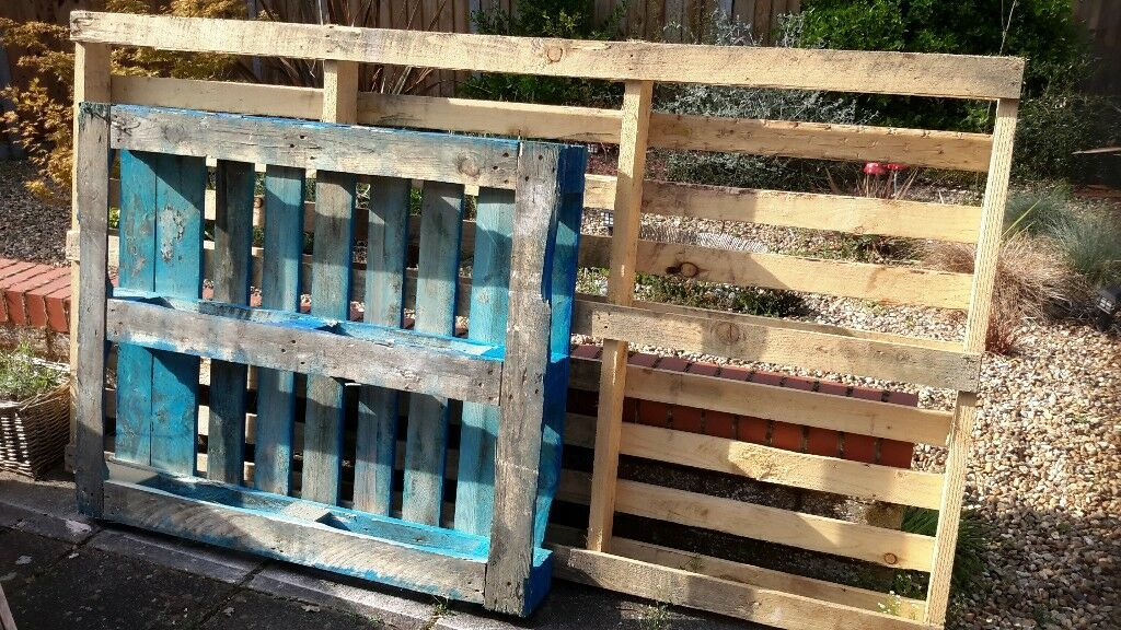 FREE - 1 x large pallet and 1 x standard pallet | in ...