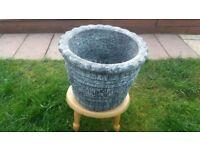 Stone Garden Flower Pot 1