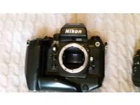 Nikon f4s sigma macro f1:2.8 50mm lens