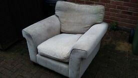 Dilapidated and unloved armchair FREE TO COLLECT