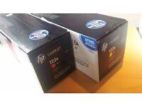 HP Laserjet color print cartridge (yellow- magenta)