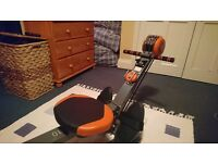 Body Sculpt and rowing machine