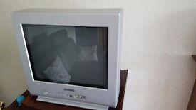 CRT TV 13 inches - Daewoo FREE !