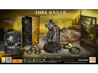 Dark Souls 3 Prestige Collectors Edition xbox