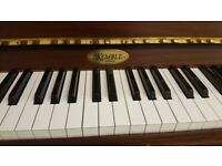 Piano - Upright - Excellent Quality + Delivery*, 1 Free Tuning & 1 Year Warranty Included
