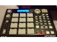 Akai mpc 500 sampler/music prodution centre