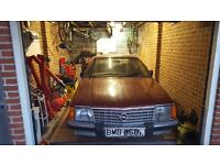 Rare classic mark 1 opel/vauxhall monza project