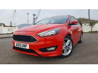 Ford Focus Diesel TDCI Zetec S Racing Red £20 Tax
