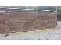 Dry secure wooden workshop /garage 12ftx 20ft x 8ft