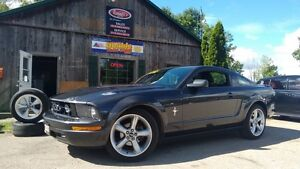 2007 Ford Mustang V6, Manual, Pony Package, Spoiler, 2 Sets of R