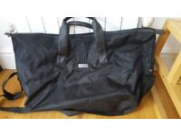 Jimmy choo holdall bag in black