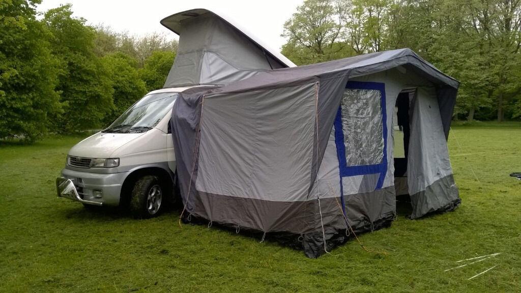 Mazda Bongo Montague Camper 4WD 4 Berth Electric Roof Awning Swap