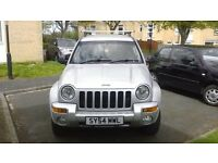 jeep chorkee 2.5 crd limited