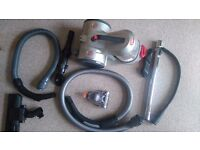 Vitually new Vax performance 10 vacuum cleaner- bagless cylinder with all attachments
