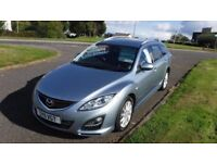MAZDA 6 2.2 D TS2 ESTATE,2011,1 OWNERS,Alloys,Cruise,Leather,Heated Seats,Air Con,160bhp,Very Clean