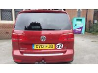 VW Touran - reluctant sale due to move abroad. Had 2.5 happy years with this great family car.