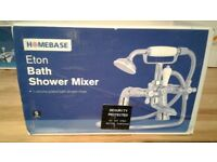 Homebase eton bath shower mixer