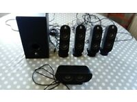 Logitech x530 pcmultimedia home theatre speaker system