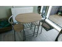 2 Seater Dining Table with Chairs