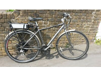 Electric Bike - Pinnacle Stratus 1.0e Hybrid Professionally Converted to Electric 500w pedal assist