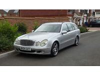 Mercedes E320 CDI Auto Elegance Estate (2004/04 Reg) + SAT NAV + XENONS + AMG WHEELS + MASSIVE SPEC