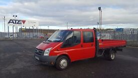 imaculate 60 ford transit 350- 115 7 seater with 11ft alloy dropside very low miles