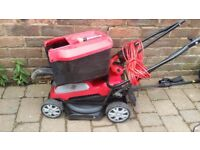 Electric mower as new