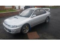 SUBARU WRX CLASSIC IMPORT VERY FAST GOOD CONDITION