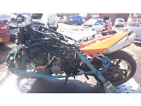 ktm superduke 990 2010 breaking bike