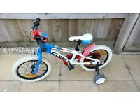 "Cube 160 Team kids series bike 16"" wheels"