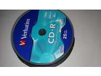 10 Blank CD-R - 700 MB - Extra Protection - Perfect for Music etc - £2.00