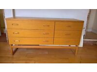 Free G Plan chest of drawers