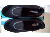 Sketchers Super Sock Go Walk 2 Slip-On - BLACK (Size 3)
