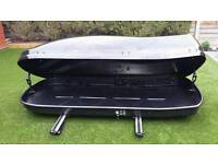 Car roof box ( roof bars included )