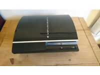 Sony Playstation 3 PS3 Piano Black 80GB HD - Faulty