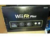 Black Nintendo Wii plus edition. Mint condition