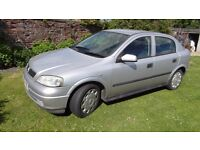 Vauxhall Astra 1.4LS MOT March 18 drives excellent £350 no offers