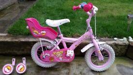 Apollo Cupcake Girls Bike - 12 inch Wheel