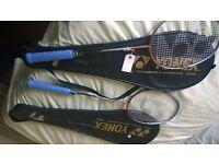Yonex TI 15 Light Baminton Racquets x2