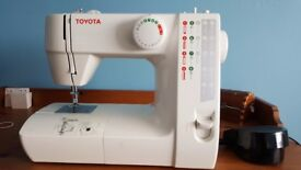 Toyota sewing machine-like new model fss21 - ONLY use once.