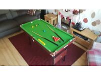 """Snooker Table 4ft 6"""""""