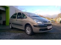 55 reg citreon picasso 1.6 petrol spares or repair to good to break engine u/s