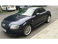 Dark blue Audi TT 1.8 Turbo 225bhp Quattro, Armrest, Cup holder, Bose Audio, 12 months MOT