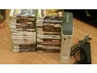 Xbox 360 with 50 games for sale